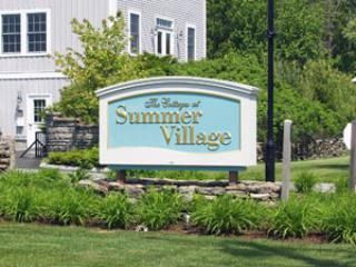Summer Village Beach Cottage Community Main Entrance