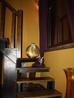 Escaleras subida a dormitorio Lenda