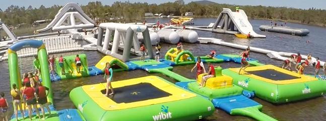 Aqua fun park - Coolum Beach