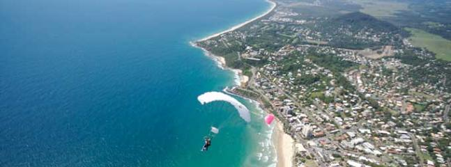 Skydiving - Coolum Beach