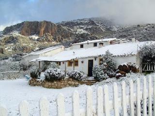 El Mirador es una típica casa rural andaluza