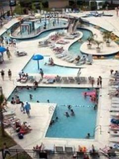 Lazy River and kiddie pools