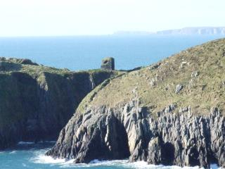 Watch tower on the headland
