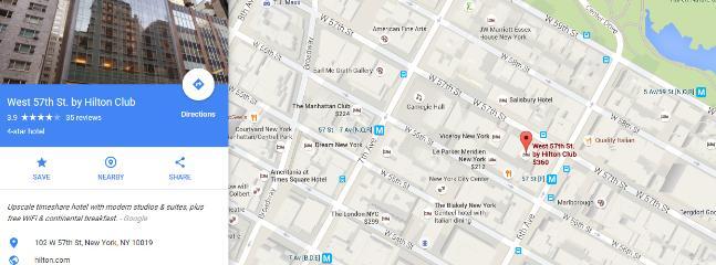 Luxurious 4 Star Hilton Hotel in Midtown Manhattan. No hotel tax!