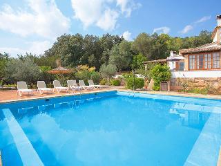 Villa rural de para 9 pax con piscina, BBQ y Wifi, Sa Pobla