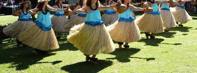 Local hula troop..