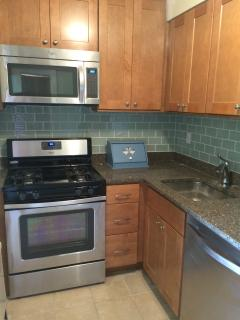 brand new kitchen remodeled summer 2015 with dishwasher, oven, microwave, fridge, etc.