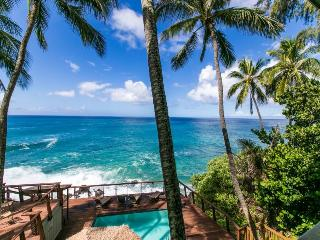 Poipu Palms 204 FREE mid-size car! Second story 2 bed/2 bath oceanfront condo.