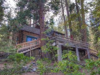 Find Complete Peace in Authentic Log Cabin