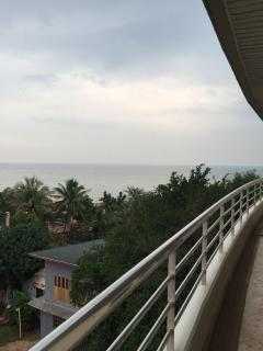 Balcony with Sea side View