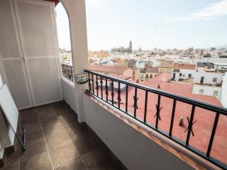 Apartamento para 6 con terraza, centro de Málaga
