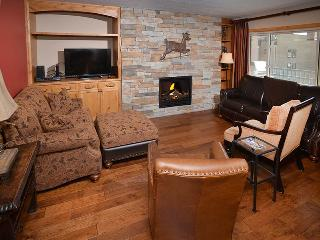 This 2 bedroom vacation townhome in Lionshead Village is a short walk to the Gondola. Sleeps 6., Vail