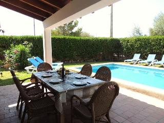 Dining Outside by the Pool