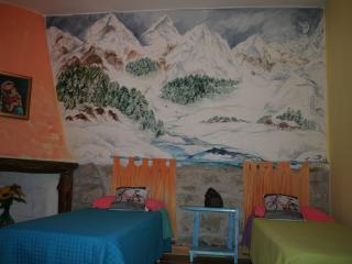 camera da letto 'inverno' due o tre letti singoli