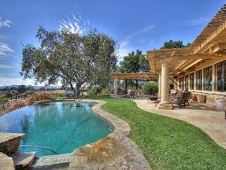 Gated 4BR Tuscan Vineyard Estate w/ Infinity Pool & Spa, 5 Mins to Downtown