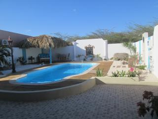 Very PRIVATE pool with bar and outside kitchen, Savaneta