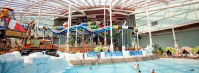 Indoor Winter Water Park at Camelback- 5 minute drive!