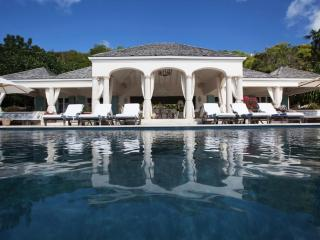 Luxury 6 bedroom St. Barts villa. Broad sunset views of Lorient and St. Jean!