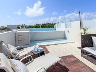 3 dormitorio PENTHOSUE piscina privada muy cerca de la playa!, Playa del Carmen