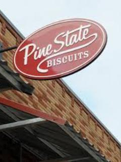 Nationally-famous locally-owned Pine State has award-winning brunches & late night fare. 1/2 block