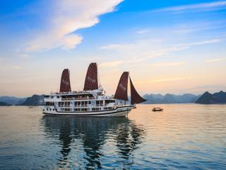 Luxury Stella cruise in Ha Long bay, Baie d'Halong