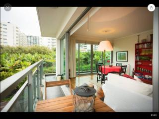Modern apartment in private condominium, solarium, pool and  private parking