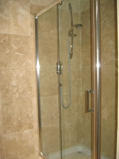 Shower in second Bathroom