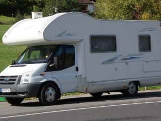 Katamarano motorhome rental with side bed, Udler