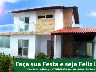 Casa de Temporada Duplex na Praia do Meio- Araçagy, Sao Luis