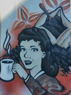 Second Cup graffiti