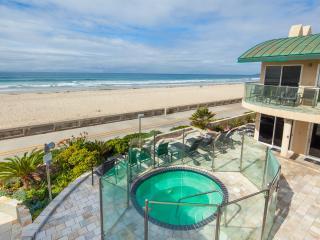 'Surfrider' Beachfront Condo with Hot Tub, San Diego