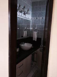 In suite bathroom