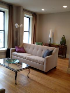 2nd flr living rm, sleeper sofa, sleeps 2