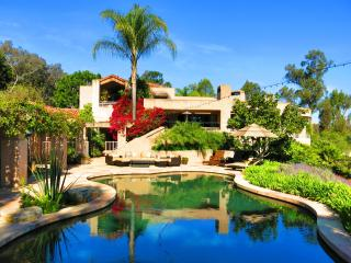 5-star LUXURY RESORT:Tennis, Pool, Spa, 3 acre Estate near Beach, Golf, Races, Rancho Santa Fe