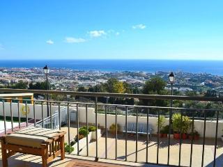 Uitzicht vanaf het terras/balkon