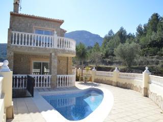 Casa Teresa a beautiful, modern stone built villa, Benigembla