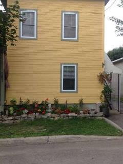 This 1902 house have been fully renovated.  With covered stair to the upper level.
