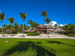Villa seen from the tee box on hole #17 on the Punta Espada Golf Course.