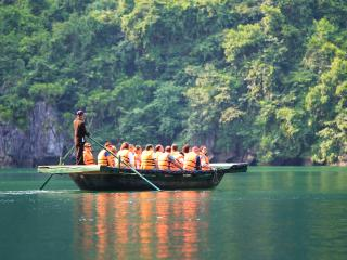 Halong 2 Days 1 Night on Swan Cruise Halong, Tuan Chau Island