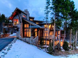 A six bedroom masterpiece in design with a prime Breckenridge Peak 8 location