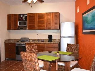 MODERN NEW, NO STAIRS, KING BED, NEAR POOL, AC, BIKES, WALK TO BEACH & TOWN., Puerto Morelos