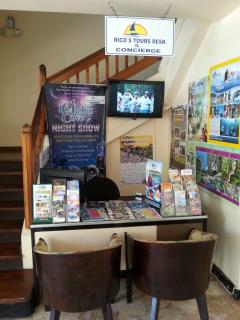 On-site tour desk to help you plan your exploration of the beautiful Island