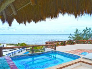 Beautiful Two Bedroom Condo Steps off the Beach, Puerto Morelos