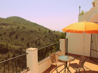NAC3. Axarquia 1. jardin+WIFI+vistas a la montaña, Frigiliana