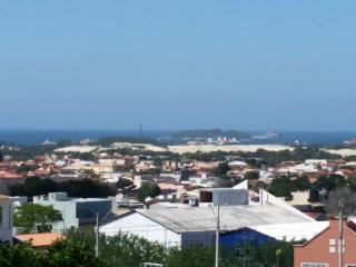 Praia dos Ingleses, com vista para o mar e cidade