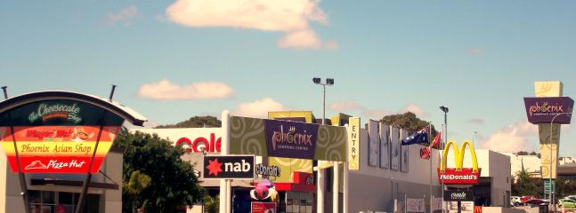 Strips of cafe, shops and shopping centre within walking distance.