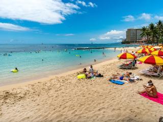 Waikiki Beach Tower! Direct Oceanfront!