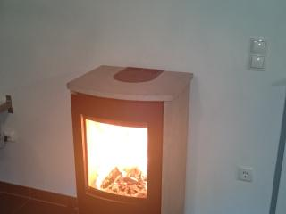 New for 2015! woodburner for cosy evenings.