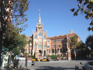 Sagrada Familia, Sant Pau, Barcelona