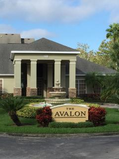 Entrance to The Avalon and the clubhouse.